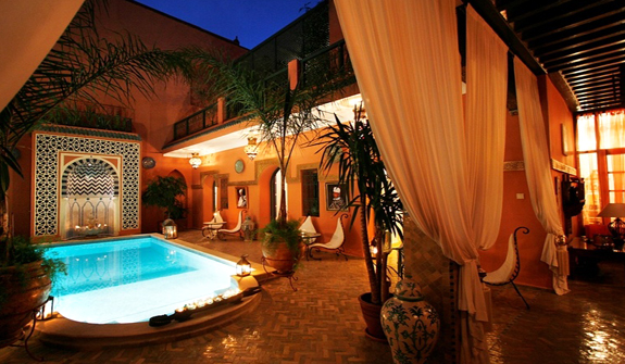 Hoteles en marrakech dunia tours s a for Best riads in marrakesh